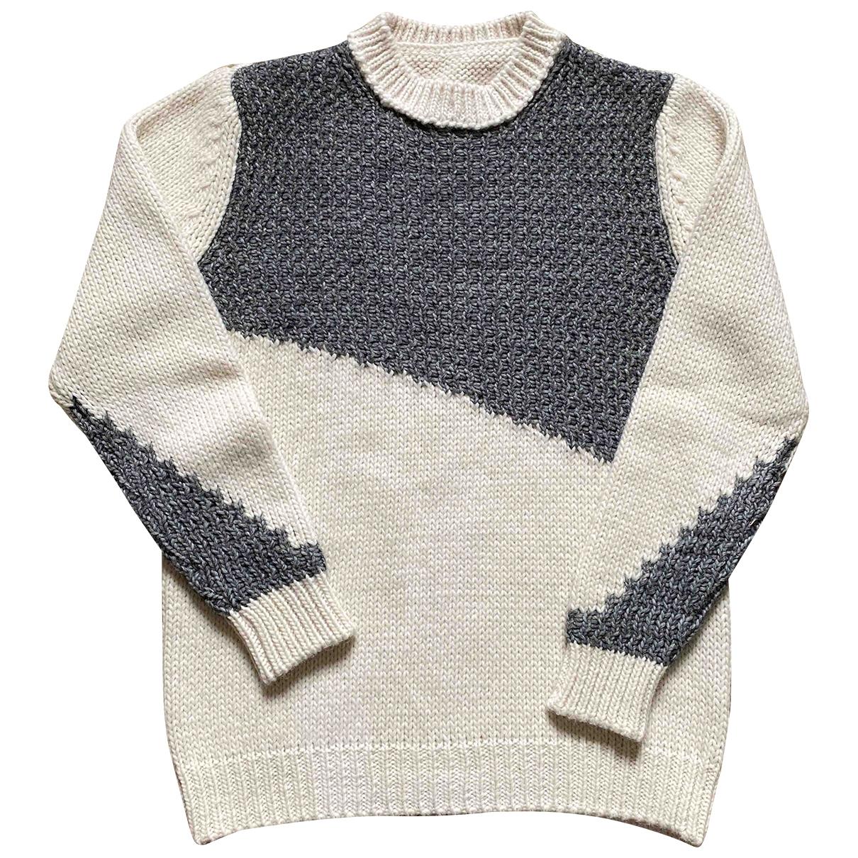 Daniele Alessandrini \N Pullover.Westen.Sweatshirts  in  Weiss Synthetik