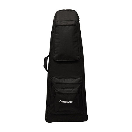 ChromaCast Electric Guitar Padded Bag for Extreme Body Shapes, One Size , Black