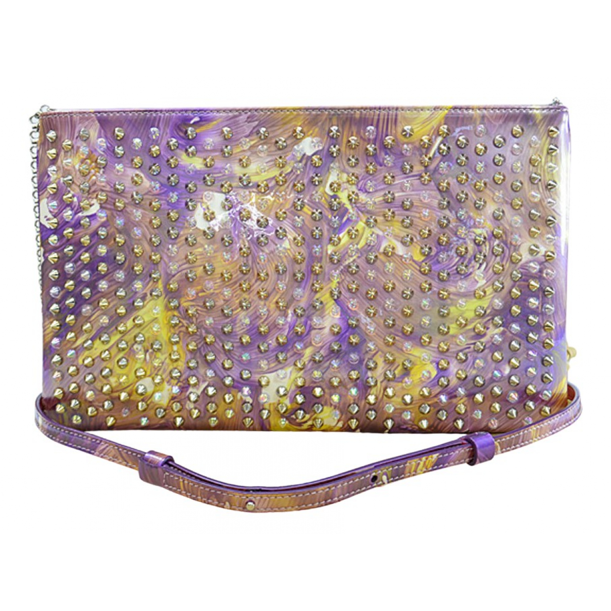 Christian Louboutin Panettone Purple handbag for Women \N