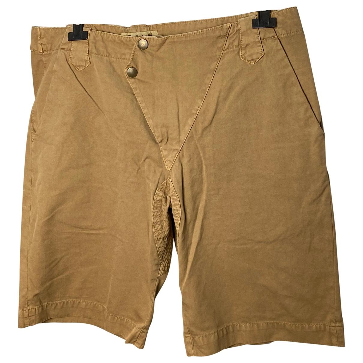 Belstaff \N Shorts in  Kamel Baumwolle