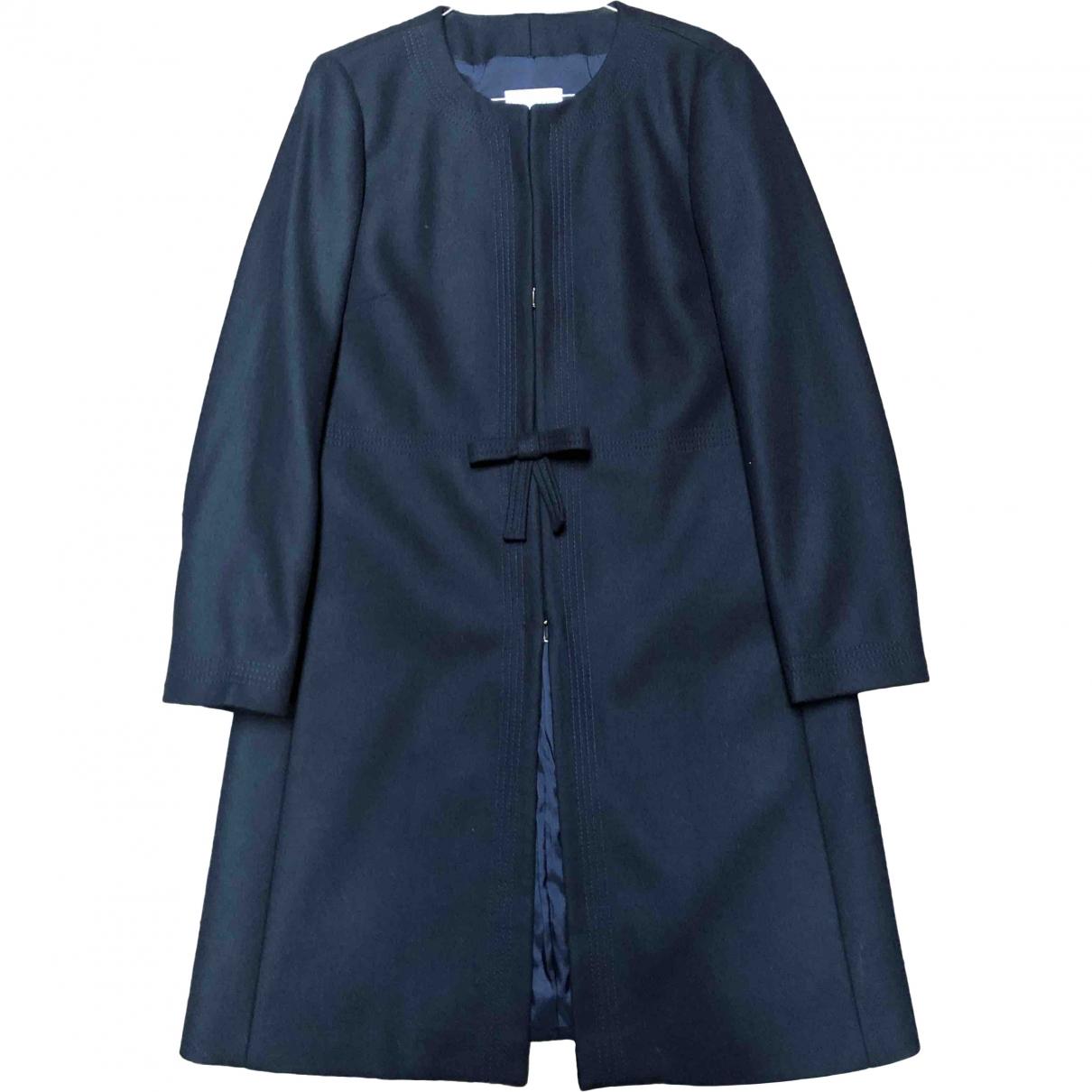 Red Valentino Garavani - Veste   pour femme en laine - bleu