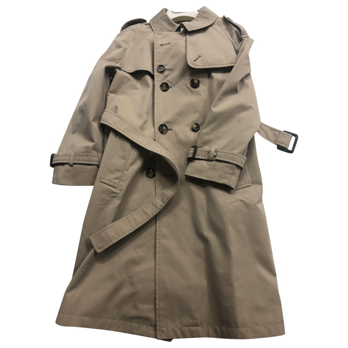 Burberry \N Beige Cotton jacket & coat for Kids 8 years - until 50 inches UK
