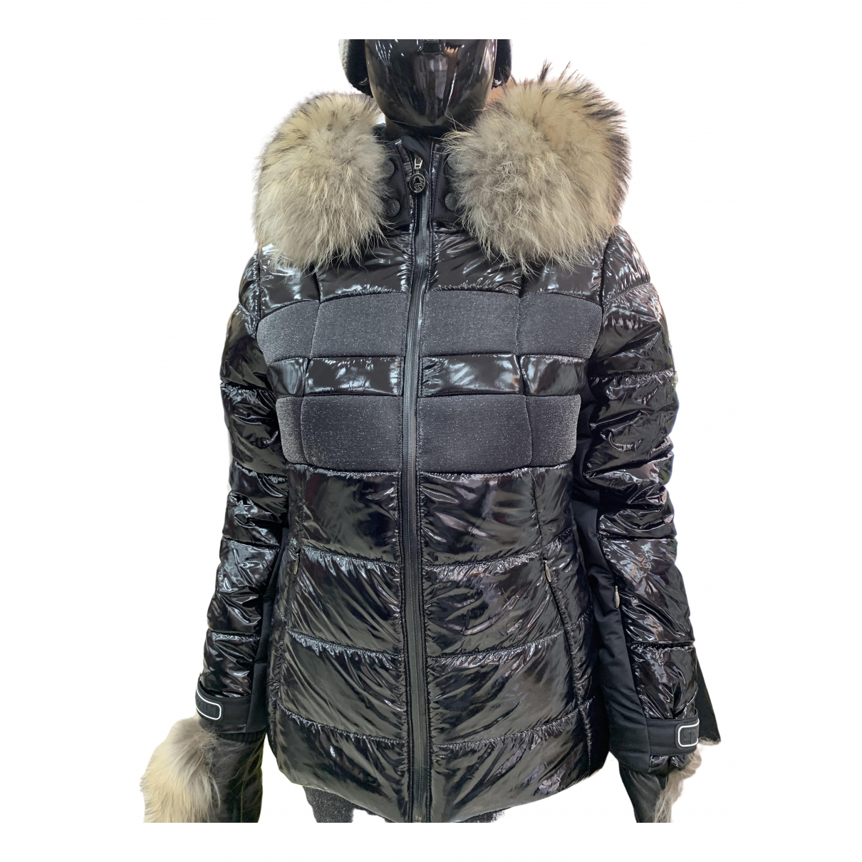 Non Signé / Unsigned N Black jacket for Women 44 IT