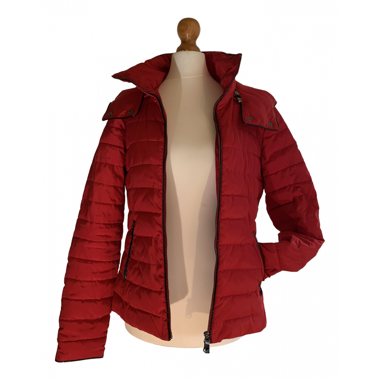 Armani Jeans \N Red jacket for Women 10 UK