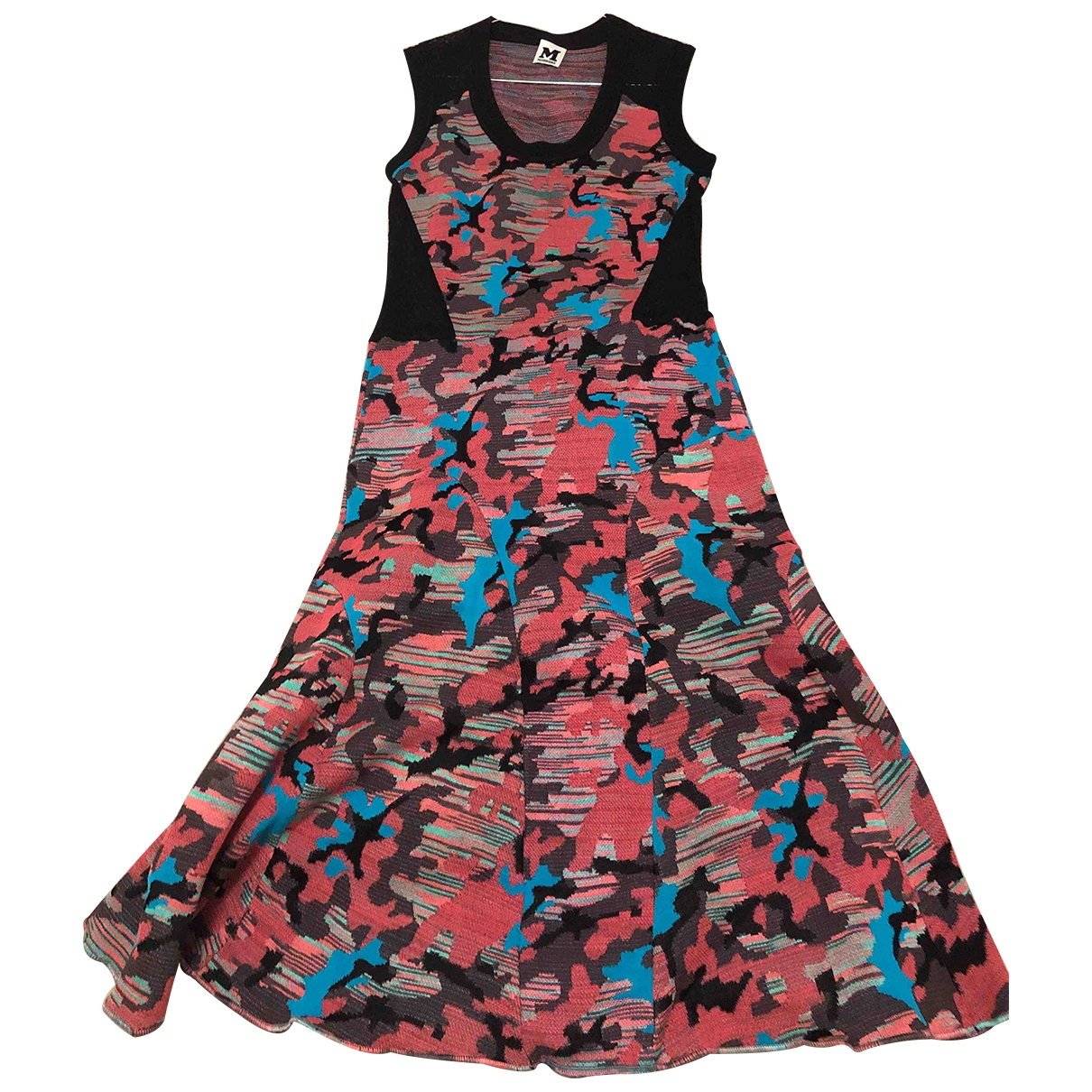 M Missoni - Robe   pour femme en coton - elasthane - multicolore
