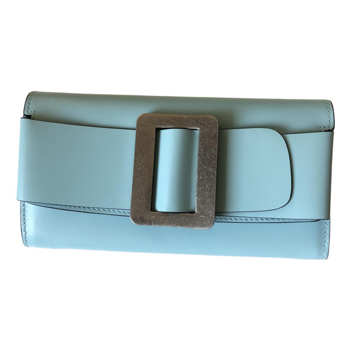 Boyy \N Blue Leather wallet for Women \N