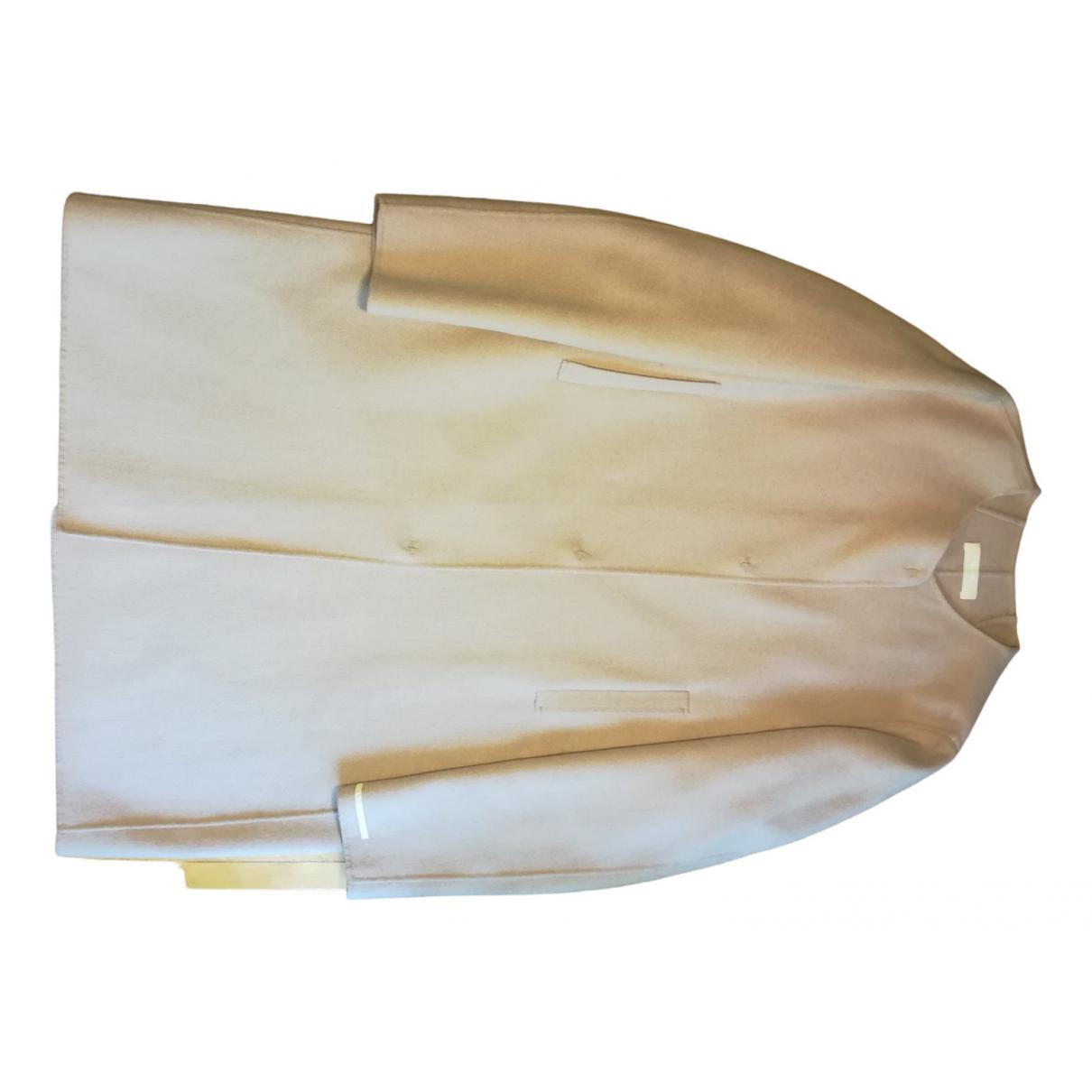 Max Mara 's \N Pink Wool coat for Women 44 FR