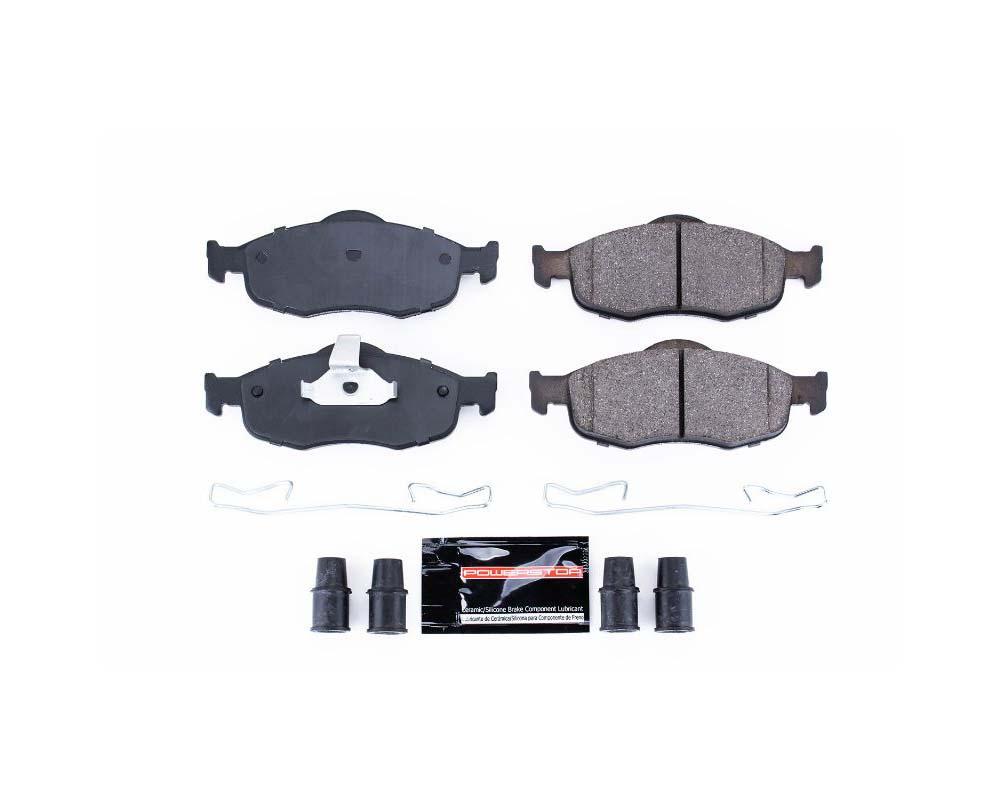 Power Stop Z23-648 Z23 Evolution Sport Brake Pads w/Hardware Front Ford Contour 1995-2000