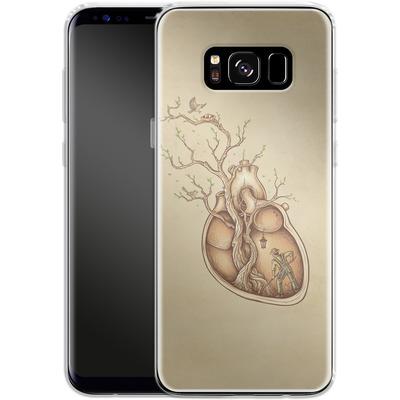 Samsung Galaxy S8 Silikon Handyhuelle - Tree Of Life von Enkel Dika