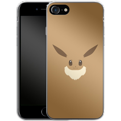 Apple iPhone 8 Silikon Handyhuelle - Eevee by Lucian Foehr von Lucian Foehr