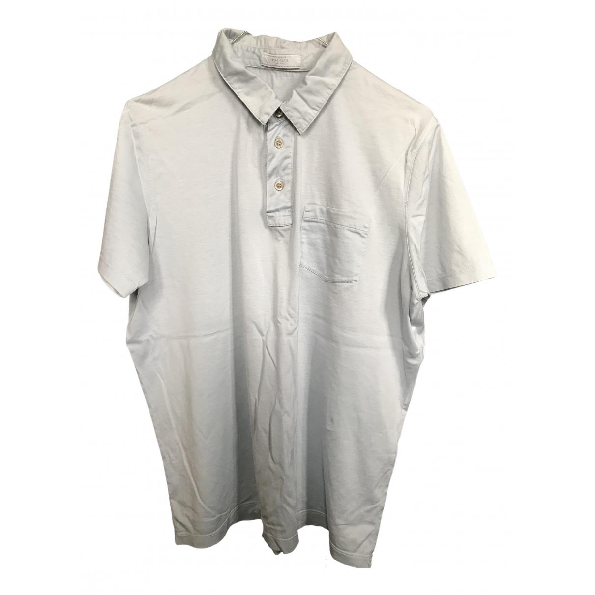 Prada \N Poloshirts in  Tuerkis Baumwolle