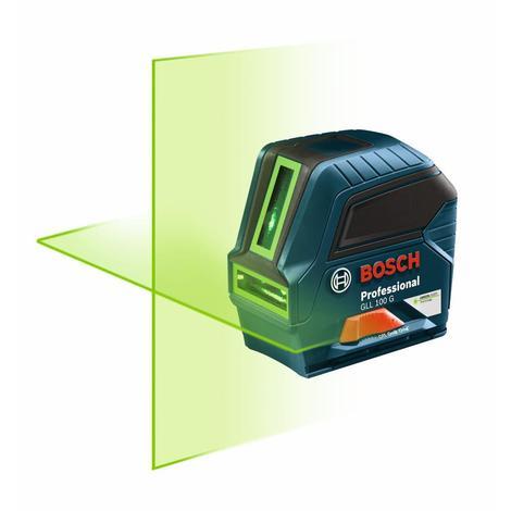 Bosch Green-Beam Self-Leveling Cross-Line Laser