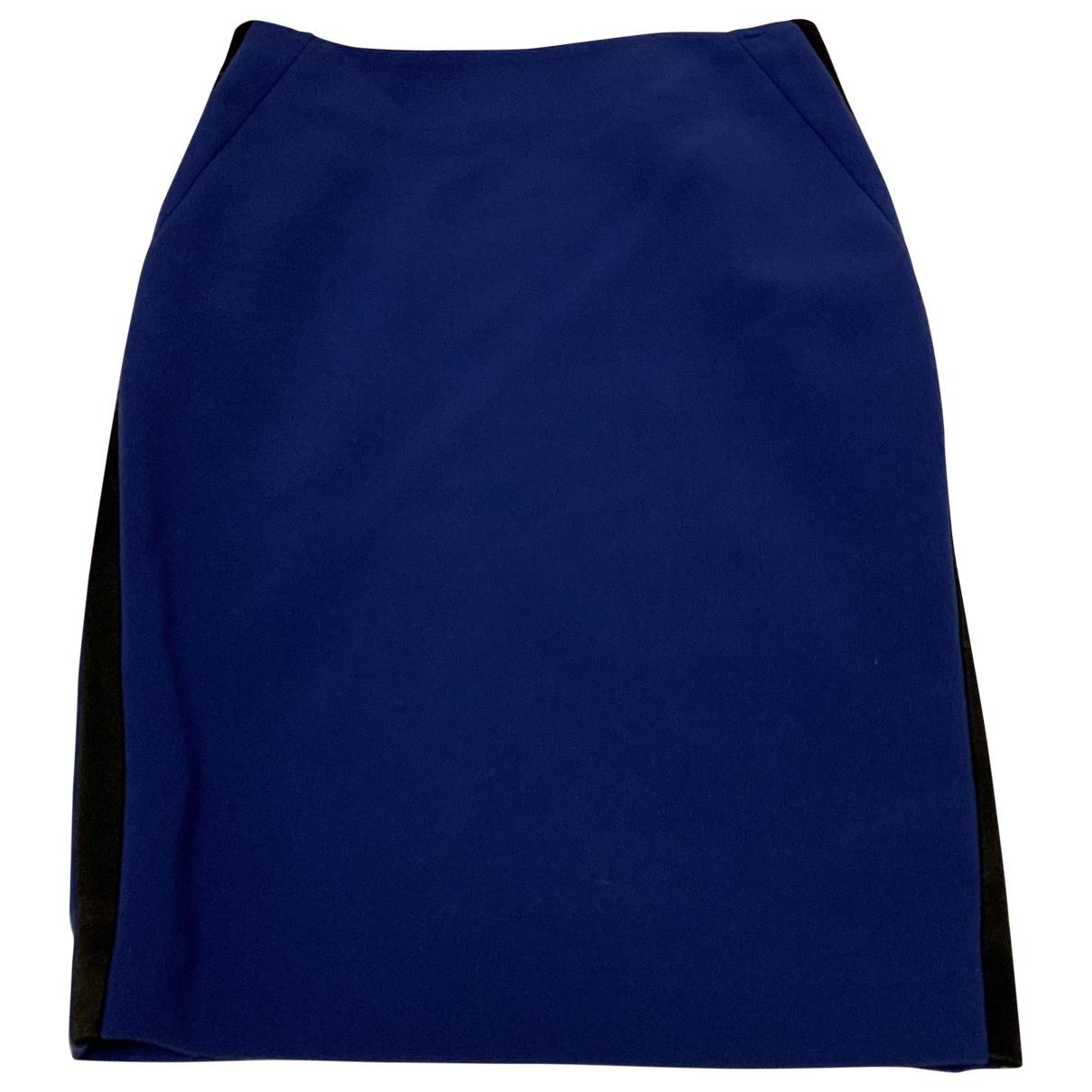 Sandro \N Blue Cotton skirt for Women M