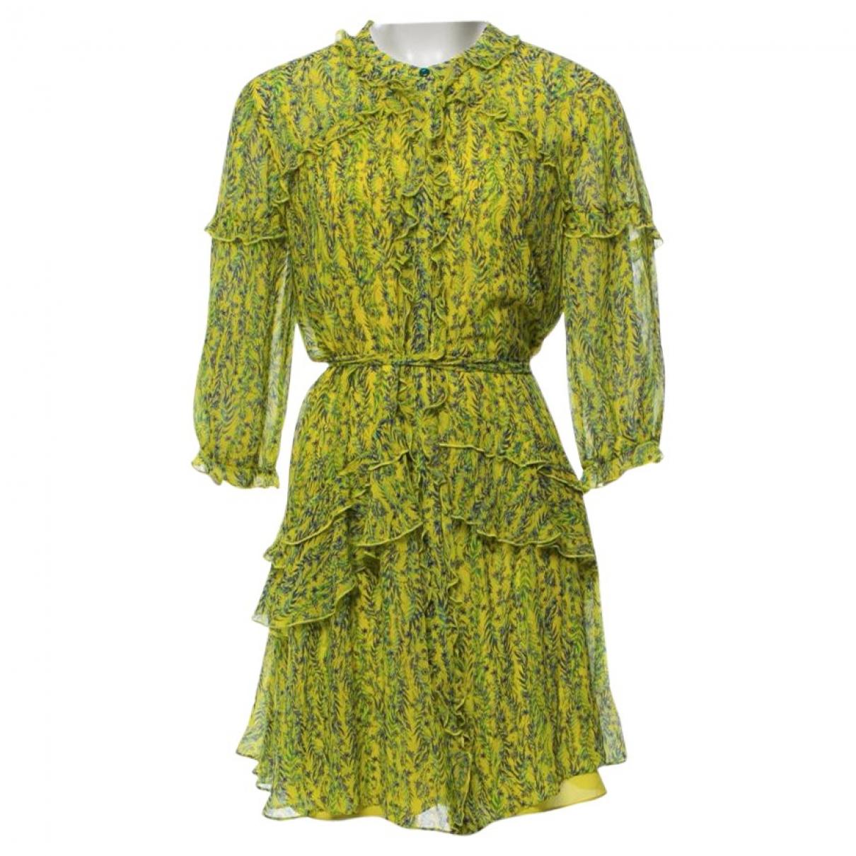 Mini vestido de Seda Saloni