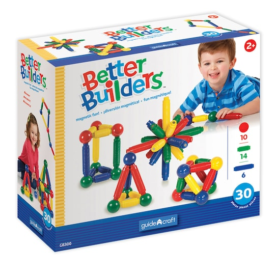 Magneatos Better Builders, 30 Piece Set By Guidecraft | Michaels®