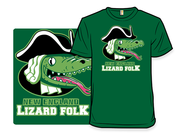 New England Lizardfolk T Shirt