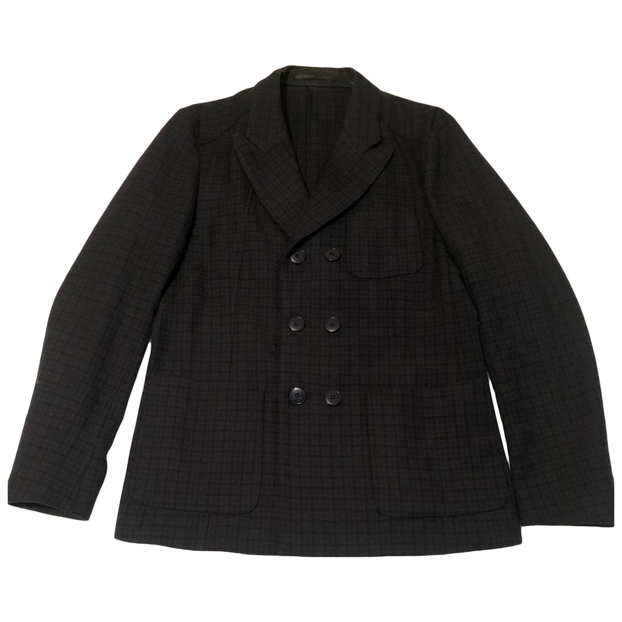 Mauro Grifoni \N Anthracite Wool jacket  for Men 50 IT