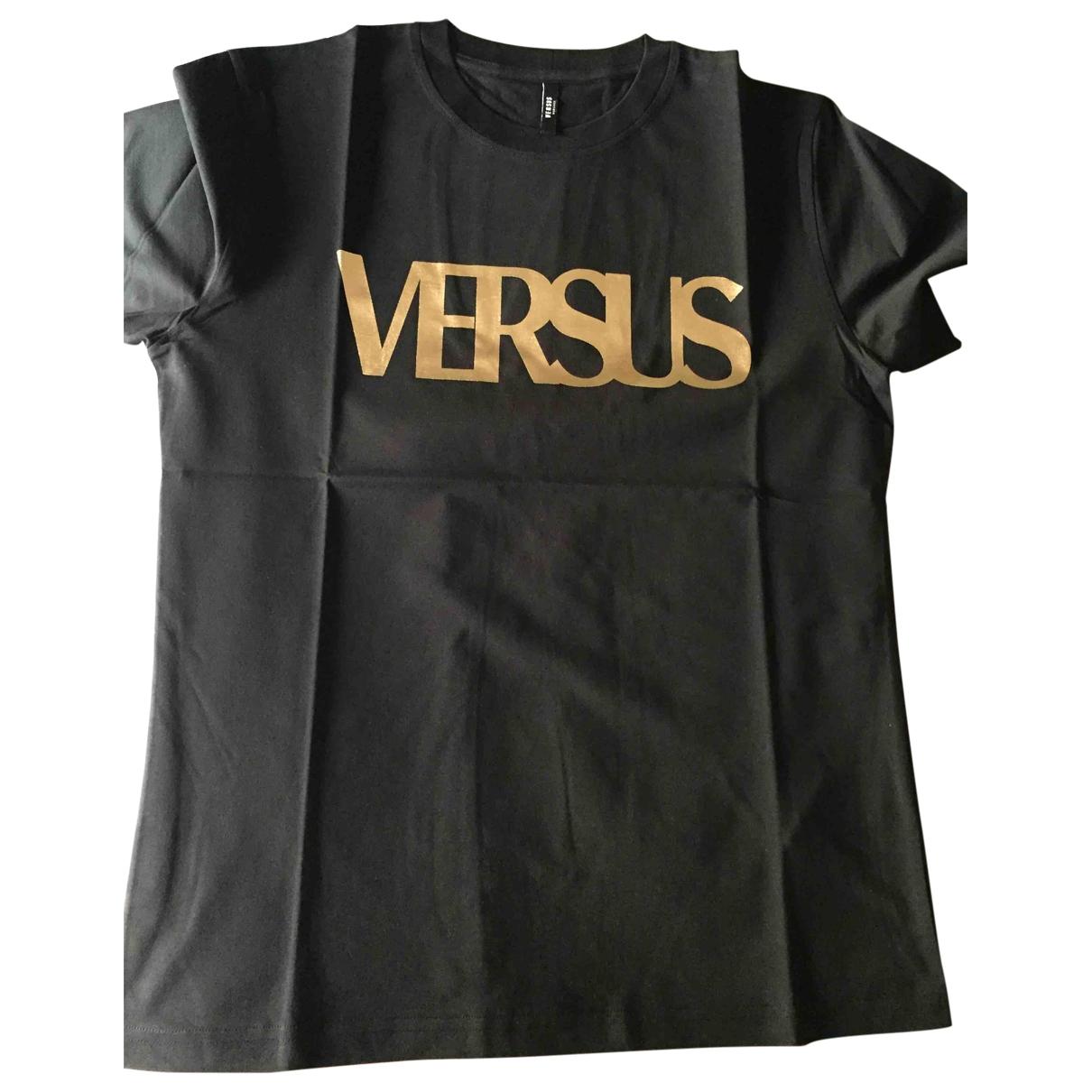 Versus \N T-Shirts in  Schwarz Baumwolle