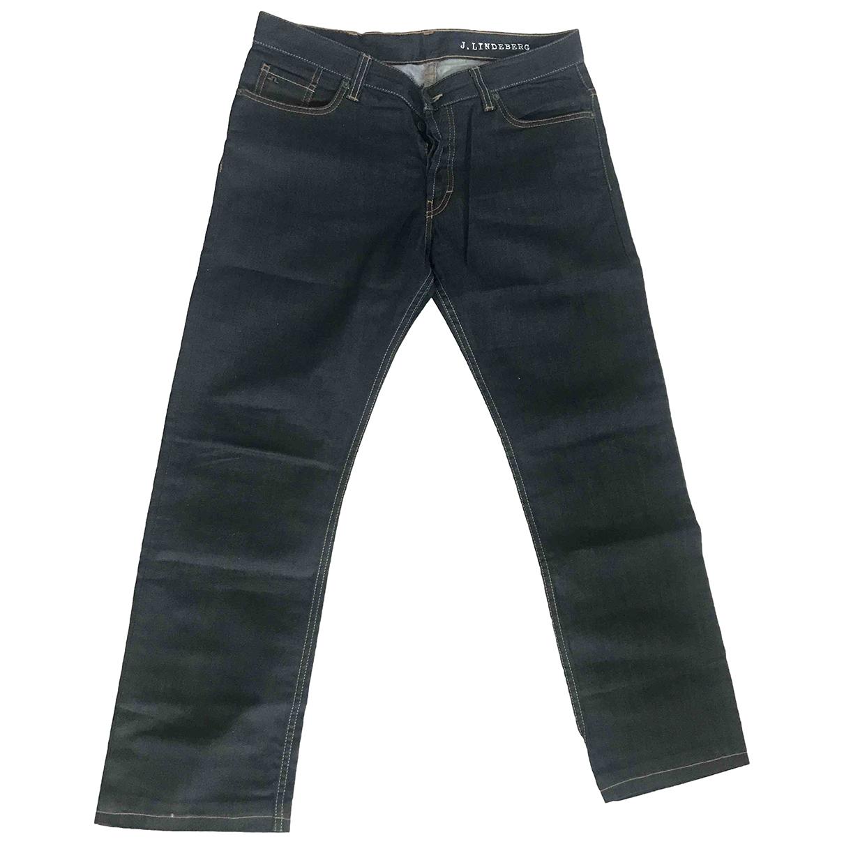 Pantalones en Denim - Vaquero Azul J.lindeberg