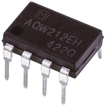 Panasonic 0.5 A DPNO Solid State Relay, PCB Mount, PhotoMOS, 60 V Maximum Load