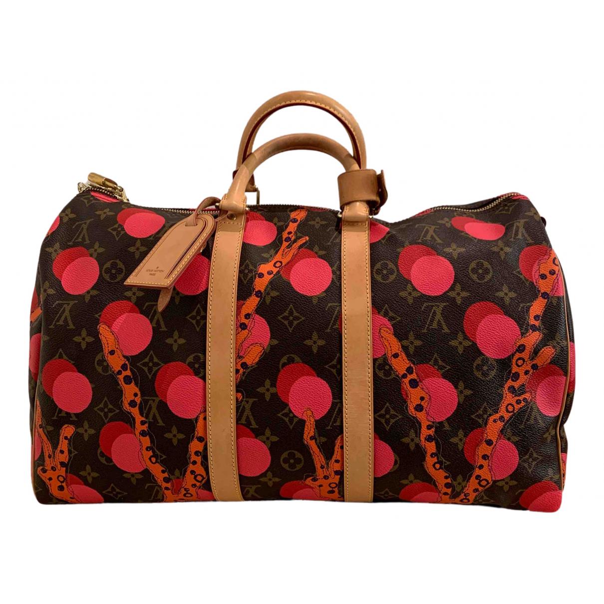 Louis Vuitton Keepall Multicolour Cloth Travel bag for Women N