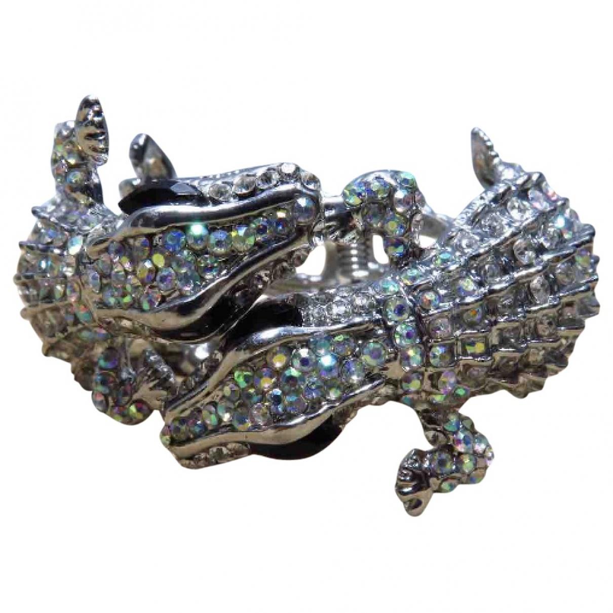 Kenneth Jay Lane - Bracelet   pour femme en plaque argent - argente