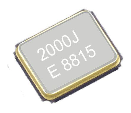 EPSON 25MHz Crystal Unit ±10ppm TSX-3225 4-Pin 3.2 x 2.5 x 0.6mm (5)