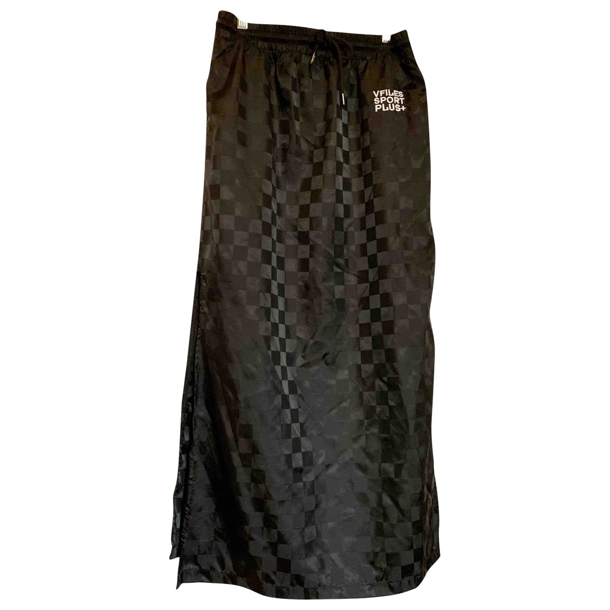 Non Signé / Unsigned \N Black Cotton skirt for Women M International