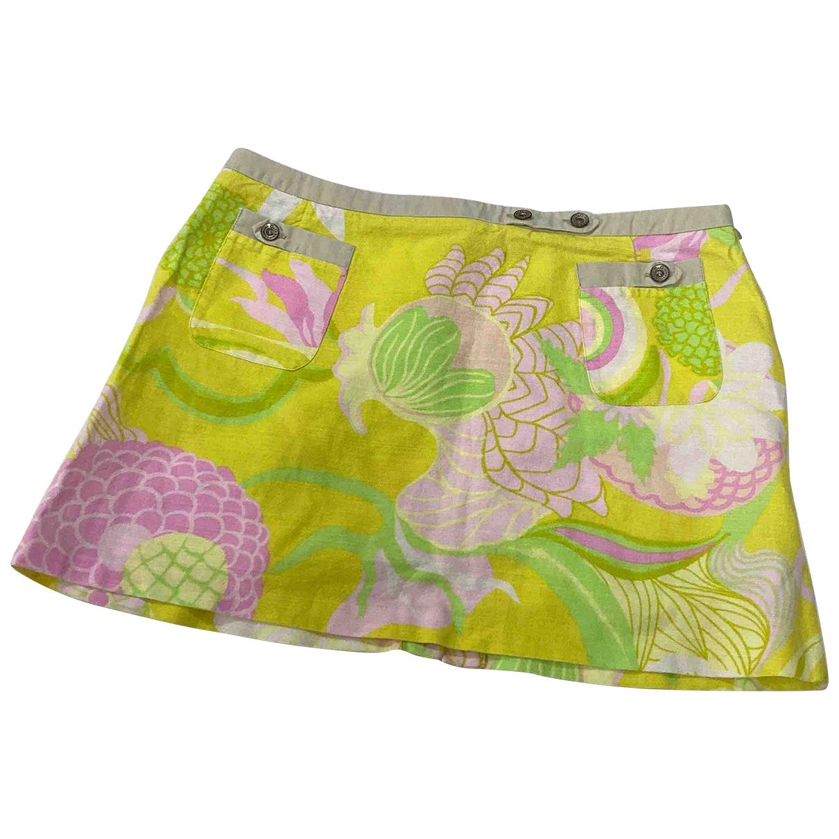 Mini falda de Lino D&g