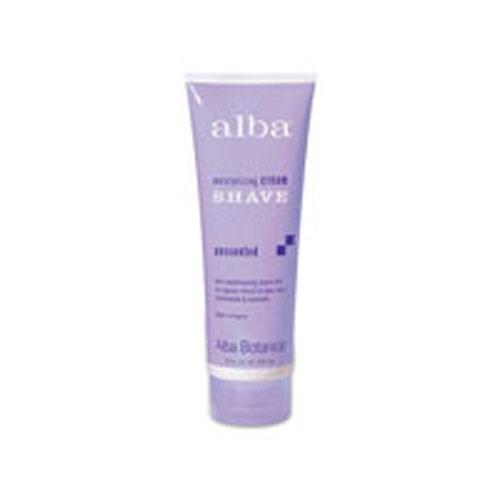 Moisturizing Cream Shave Unscented 8 Fl Oz by Alba Botanica