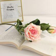 1 Branch Artificial Rose