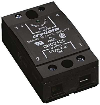 Sensata / Crydom 50 A Solid State Relay, Zero Cross, Panel Mount, SCR, 530 V Maximum Load