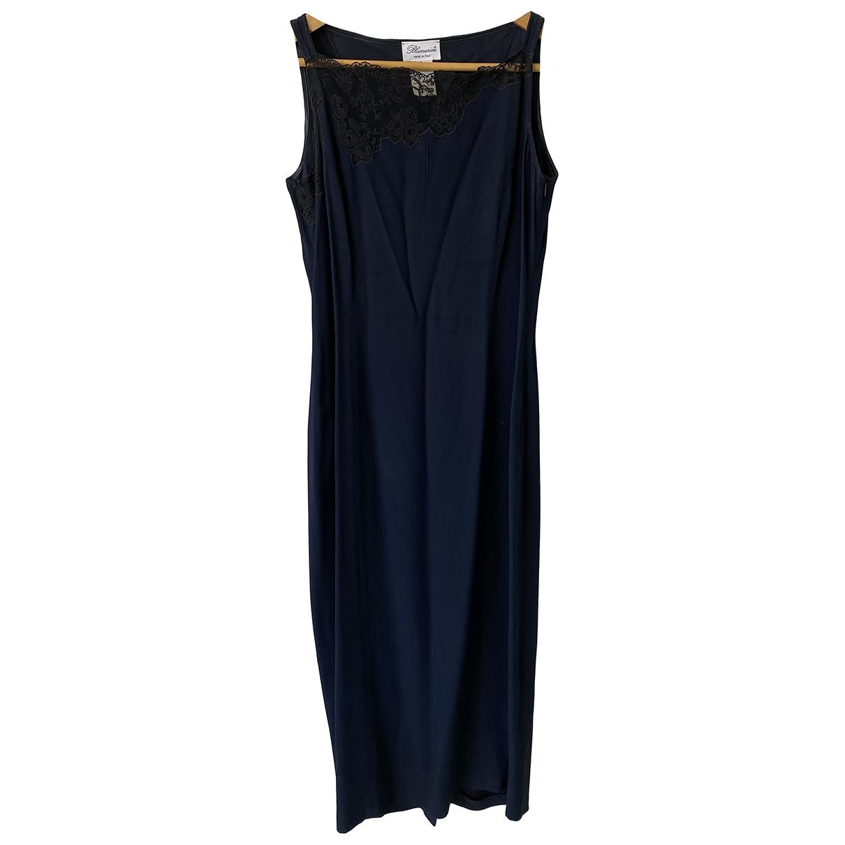 Blumarine \N Kleid in  Blau Viskose