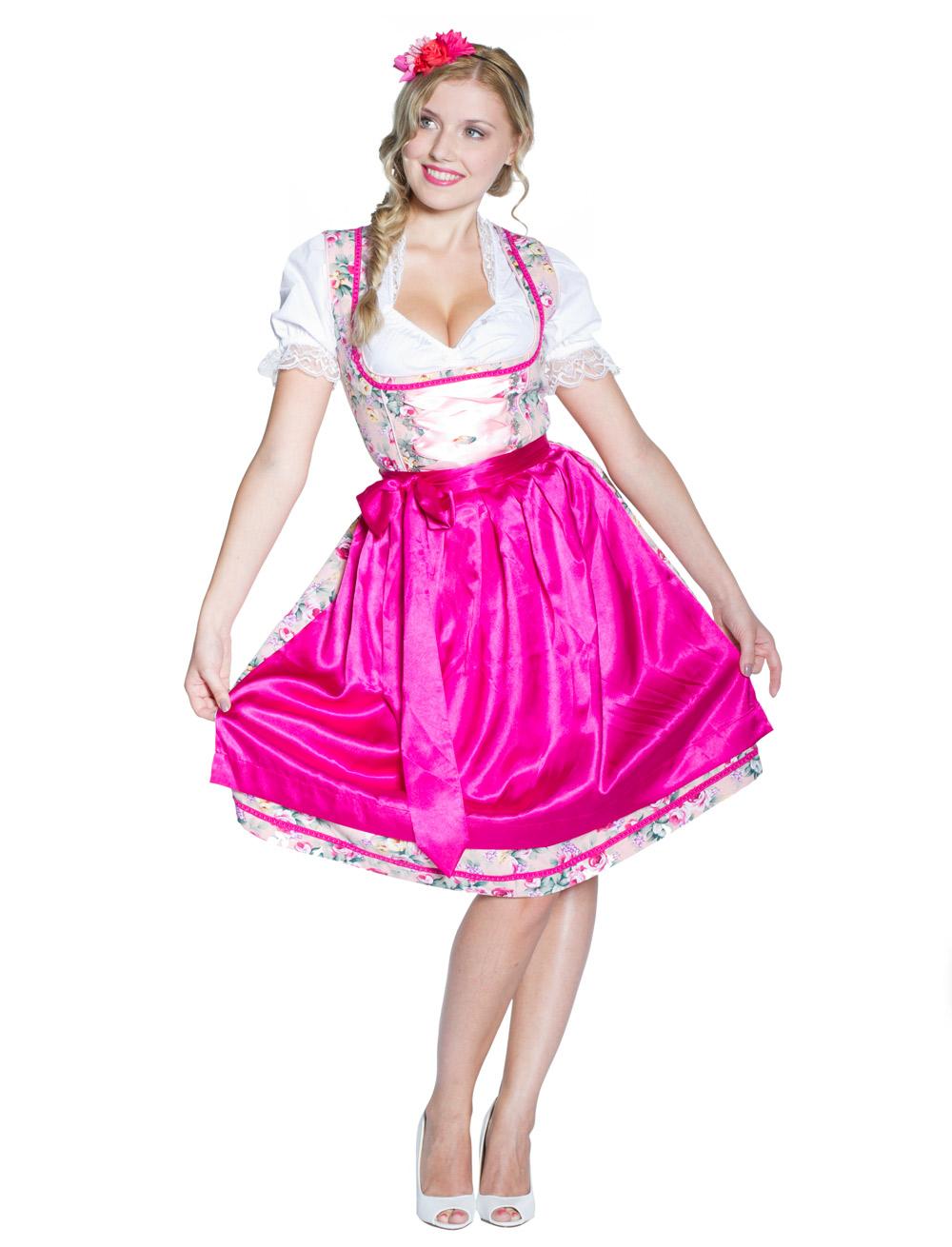 Dirndl Pia pink Grosse: 42