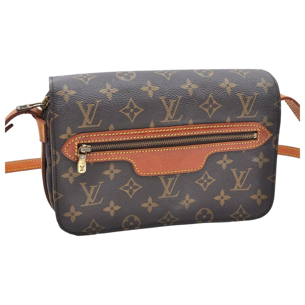 Louis Vuitton Saint-Germain Brown Cloth handbag for Women N