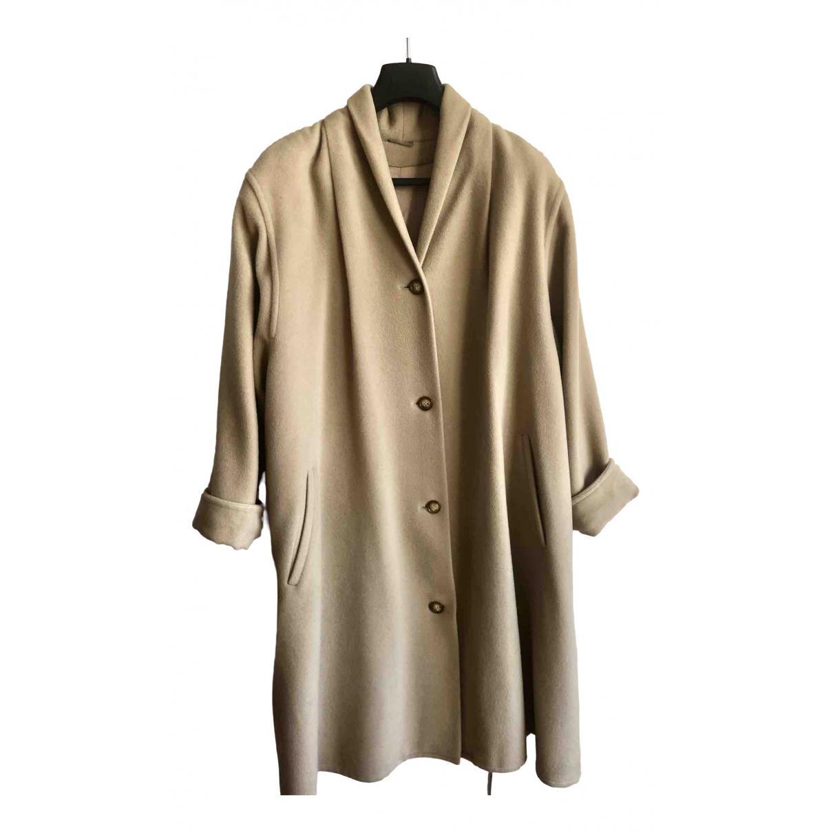 Marella \N Beige Wool coat for Women 14 UK