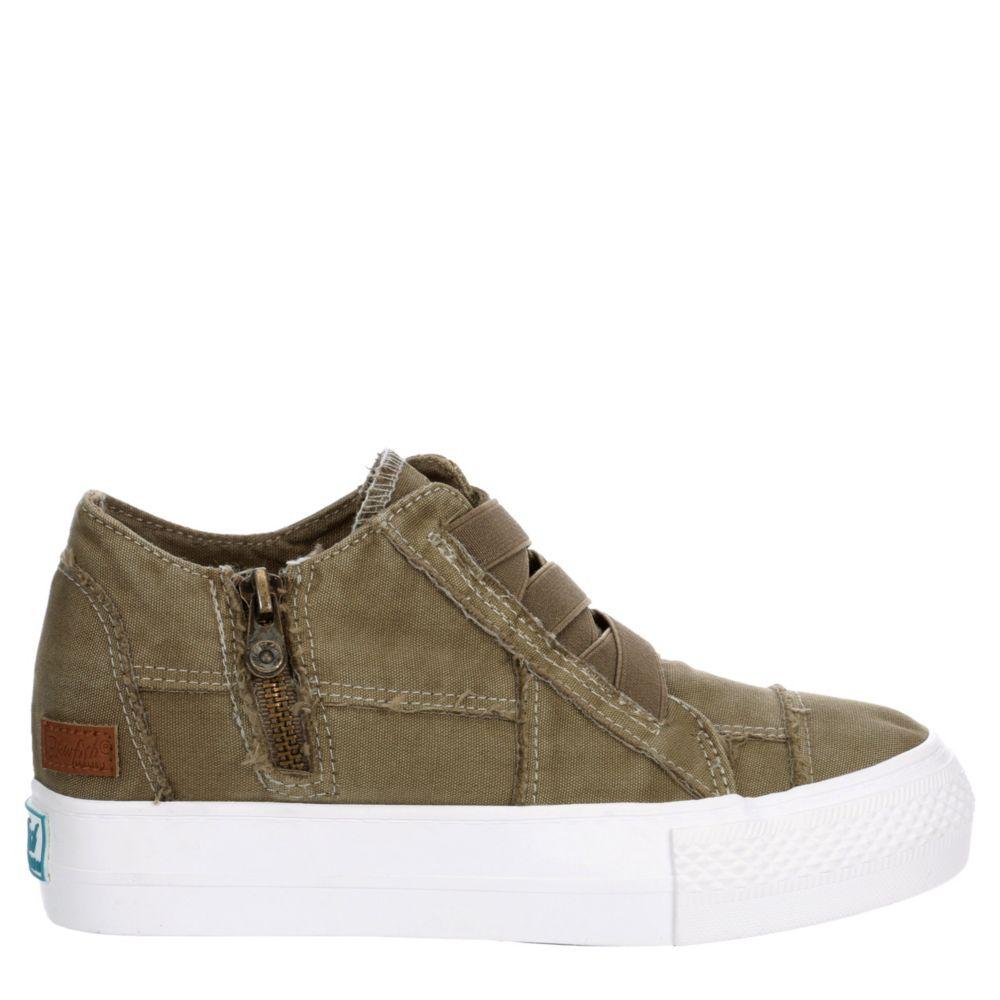 Blowfish Womens Mamba Hidden Wedge Shoes Sneakers
