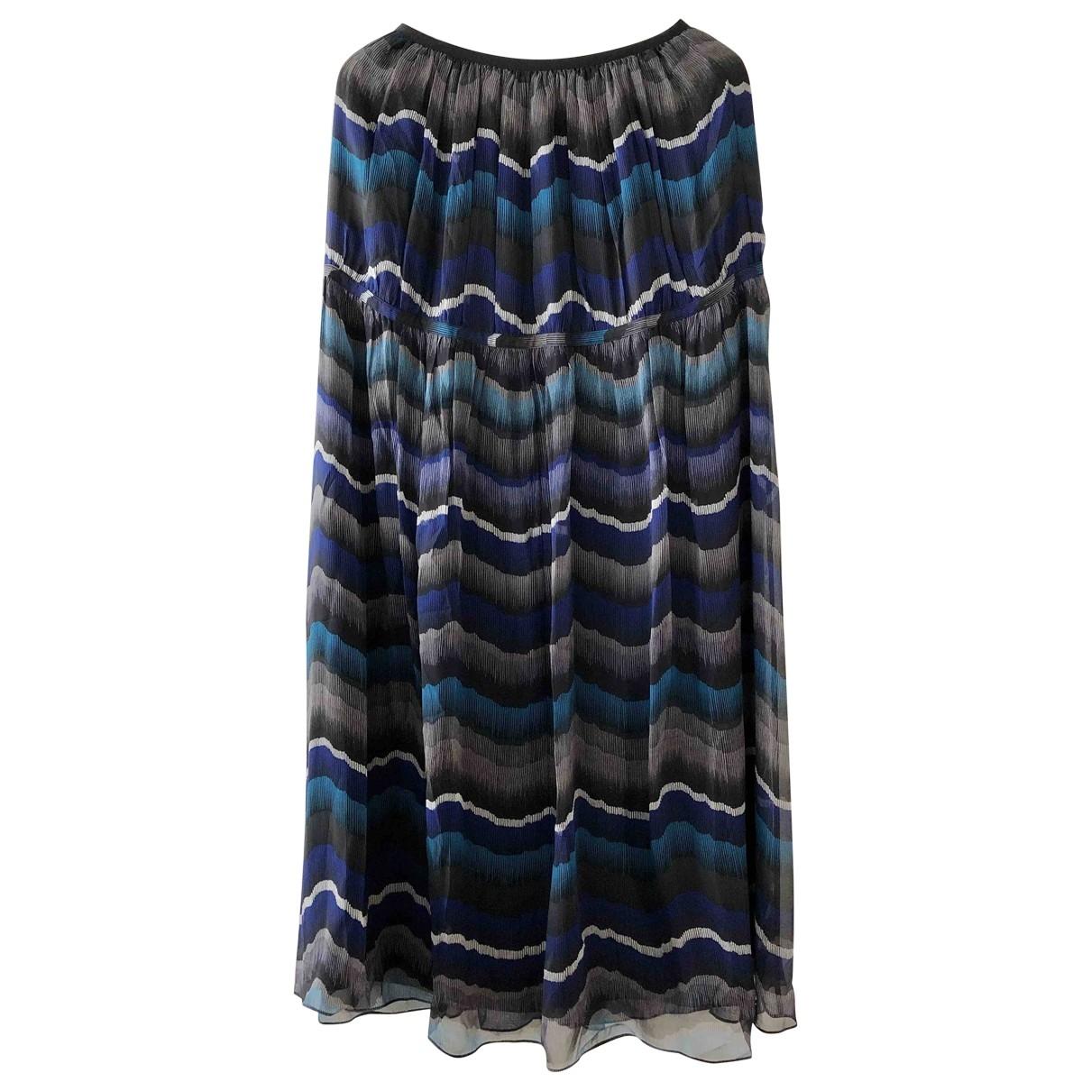 Diane Von Furstenberg \N Multicolour Silk skirt for Women 0 0-5