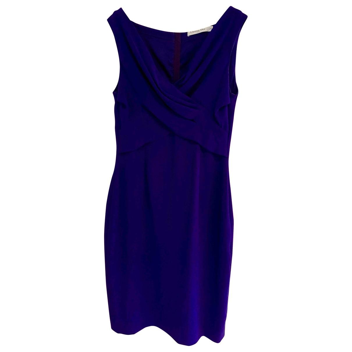 Dior \N Purple Silk dress for Women 44 FR