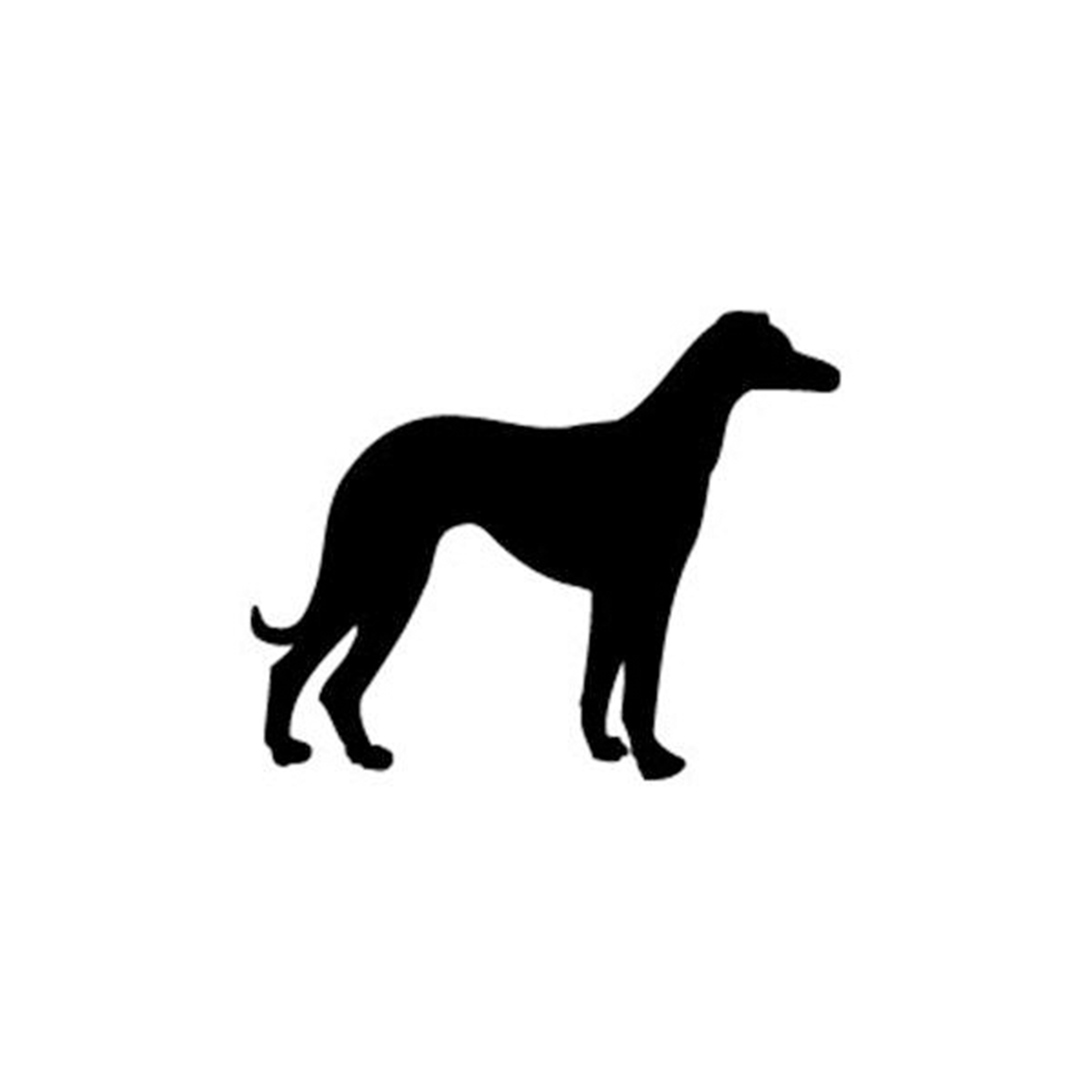 Woodworking Project Paper Plan to Build Greyhound Dog Shadow Pattern