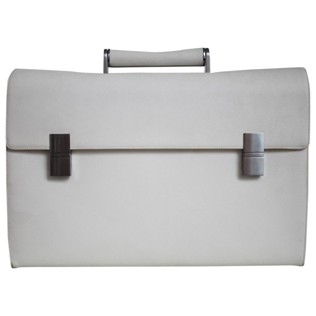 Porsche Design \N White Leather Travel bag for Women \N