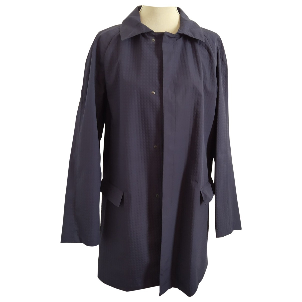 Emporio Armani - Manteau   pour homme - marine