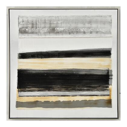 Abstract Collection JQ-1027-37 Layers II with Plastic Frame in Multicolor