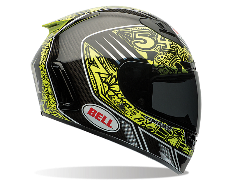 Bell Racing 7061588 Star Carbon Tagger Trouble Replica Helmet 57-58 | MD