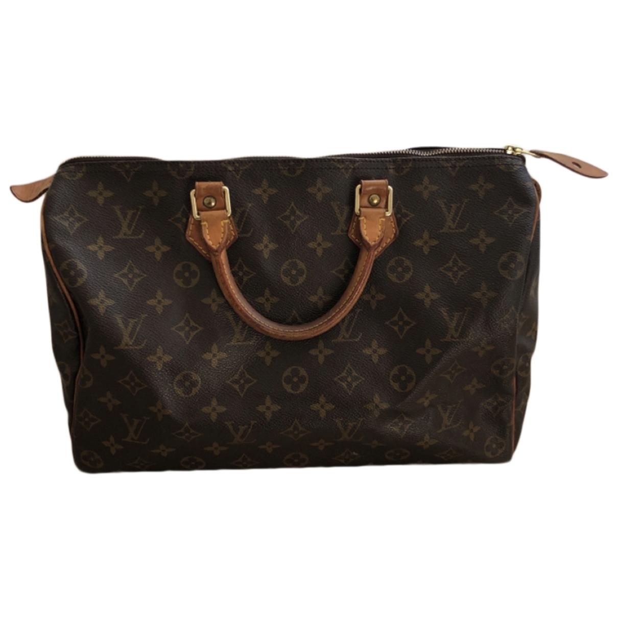 Bolso  Speedy de Lona Louis Vuitton