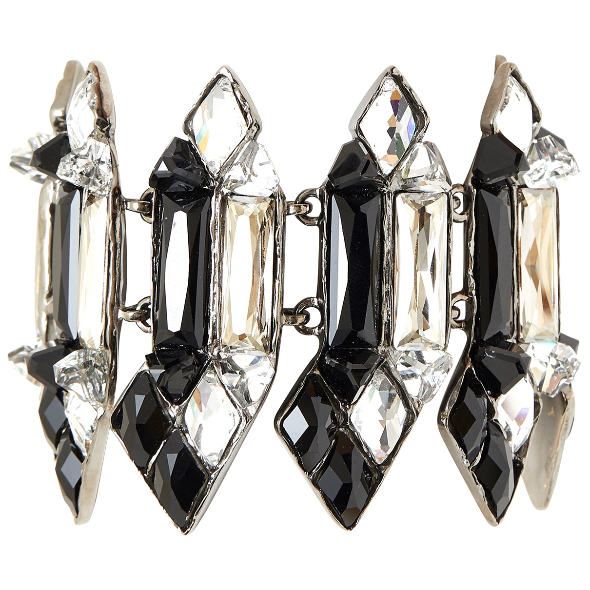 Yves Saint Laurent \N Silver Metal bracelet for Women \N