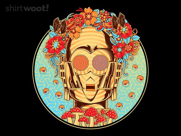 Hippie Droid T Shirt