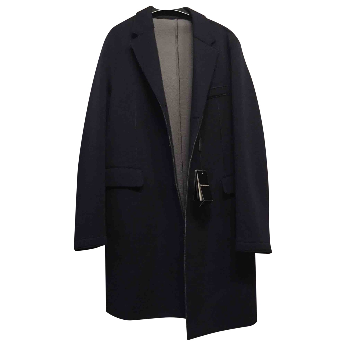 Emporio Armani \N Blue coat  for Men 52 IT