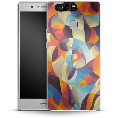 Huawei P9 Silikon Handyhuelle - Colour Power von Georgiana Teseleanu