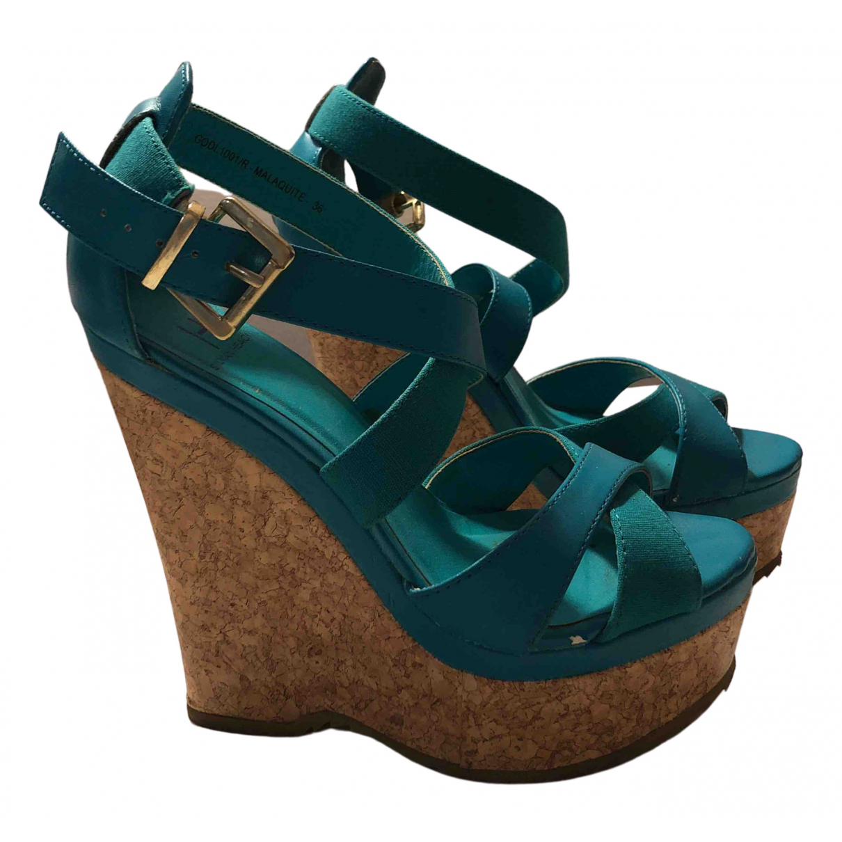 Sandalias de Cuero Silvian Heach